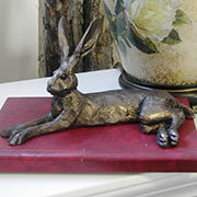 Paul Jenkins Harvey Hare Lying Down