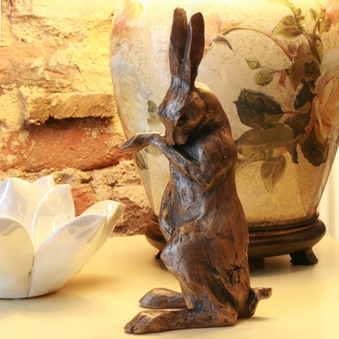 Paul Jenkins Henrietta Hare Sculpture