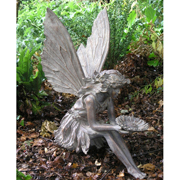 Large Sitting Fairy Garden Ornament