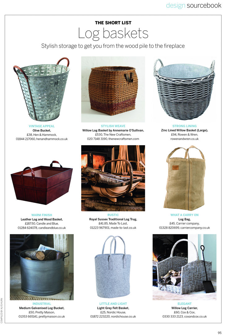 fireplace leather log basket fireplace accessories candle and blue