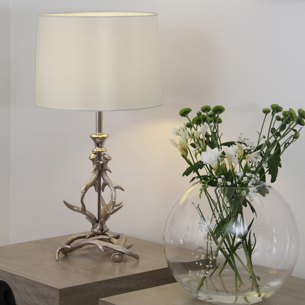 Antler Table Lamp For Living Room Small