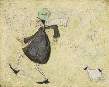 Sam Toft Grooving With Doris Mixed Media Prints Candle