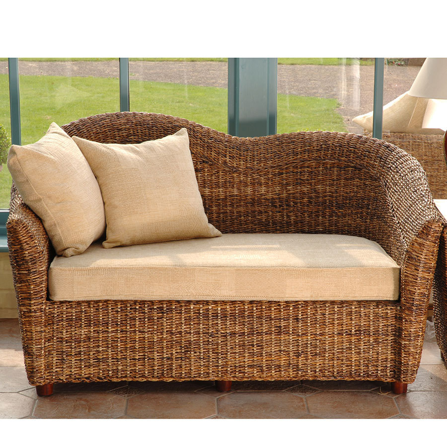 Cane Conservatory Furniture Laluna Sofa Cane Sofa Candle And Blue