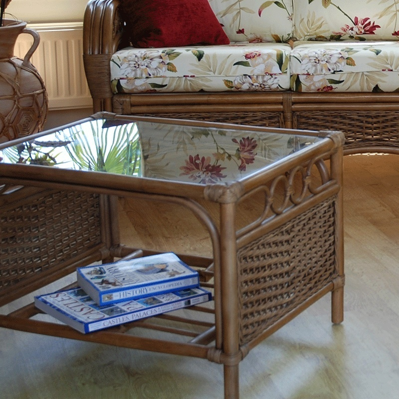 Rattan Conservatory Coffee Table: Conservatory Cane Small Coffee Table