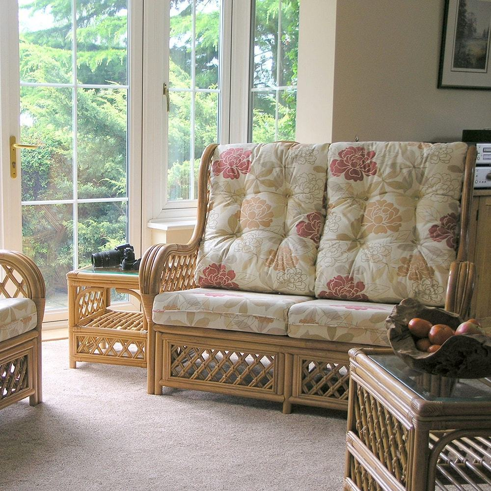 Rattan Conservatory Coffee Table: Conservatory Cane Coffee Table