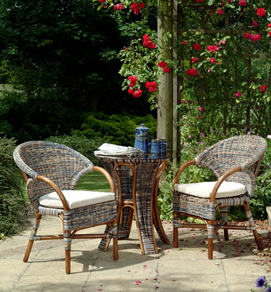 Cane Conservatory Breakfast Set