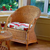 Small Conservatory Tub Chair Candy Brown