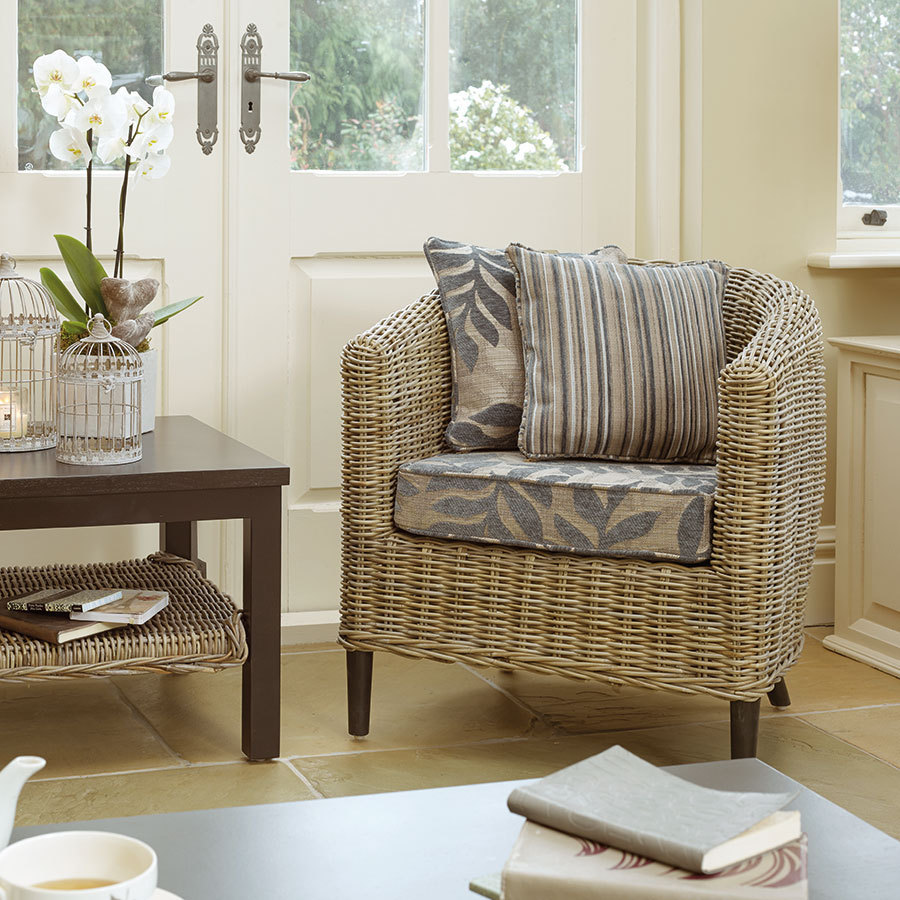 Tuscany Rattan Tub Conservatory Chair ...