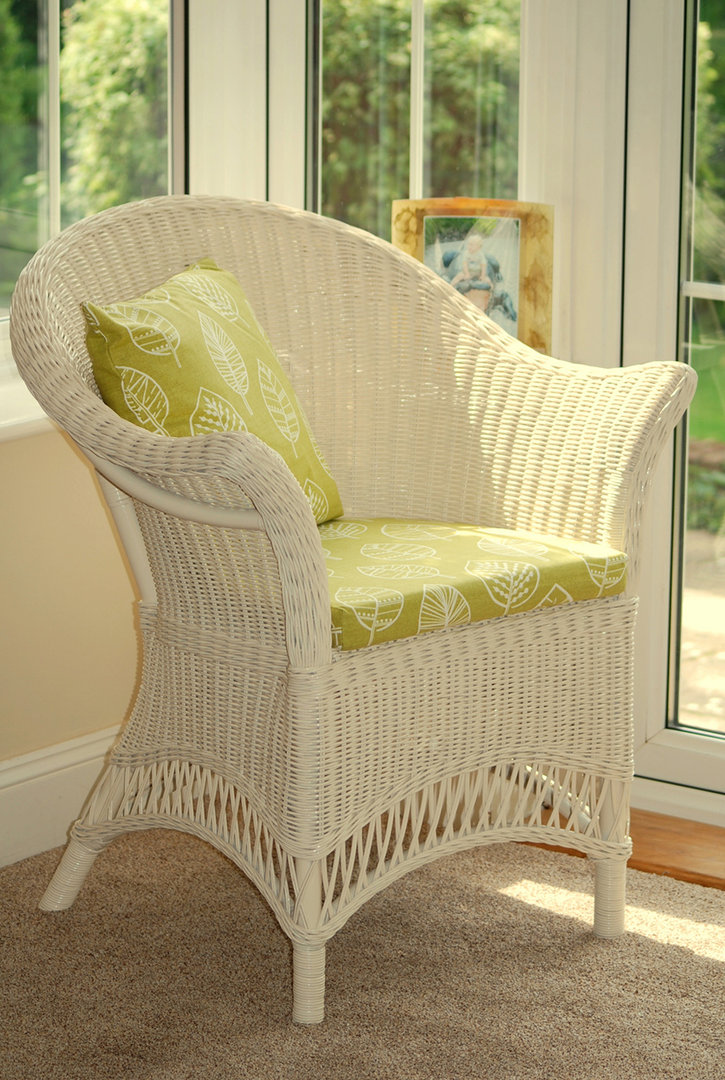 Wicker Chairs Small Conservatory Chair Bedroom Chair