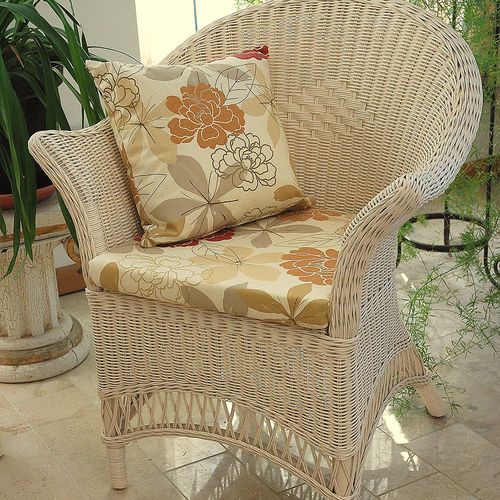 Wicker Loom Style Conservatory Chair