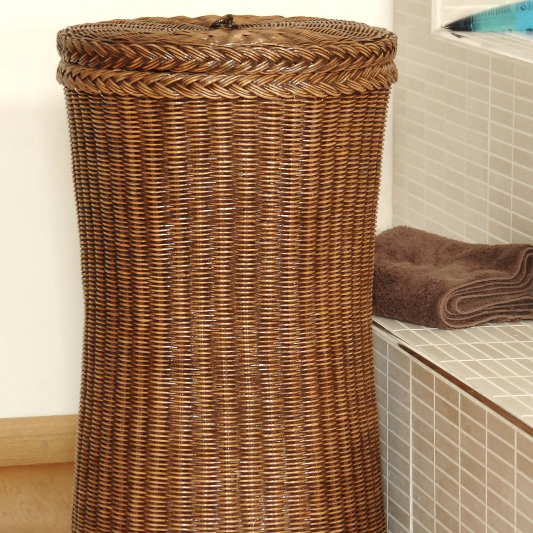 Tall Wicker Laundry Basket Tall Laundry Basket Candle