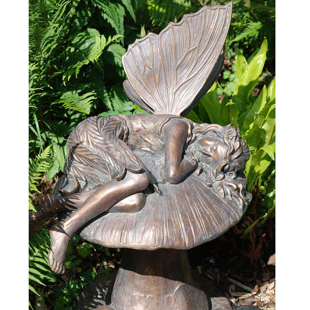 fairy statues to create a whimsical garden wearefound home
