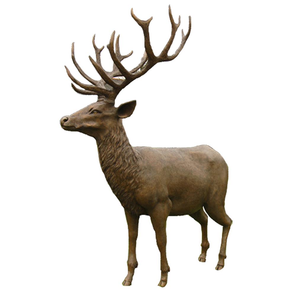 Extra Large Stag Garden Sculpture Animal Sculptures