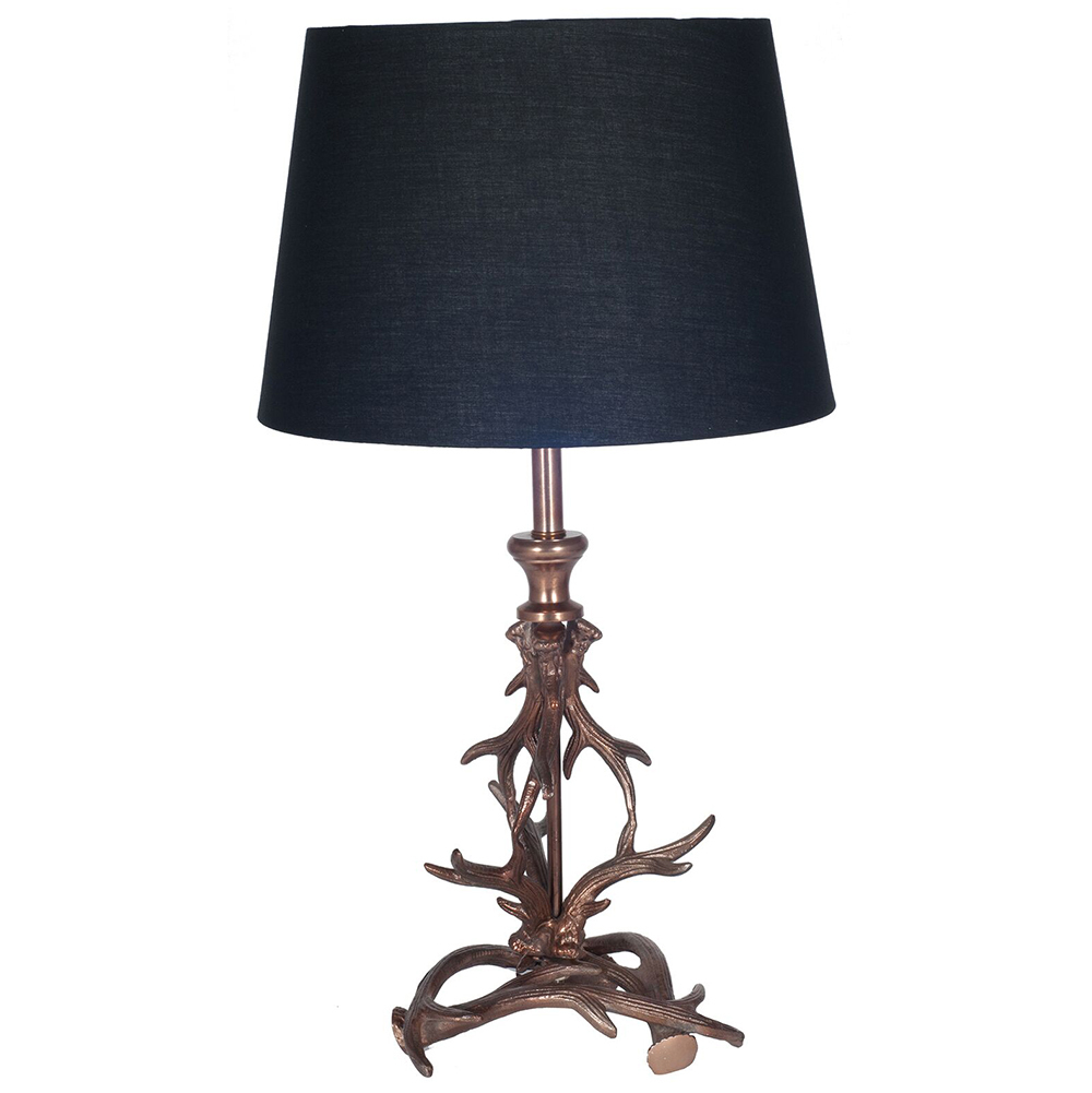 Antler Table Lamp Horn Table Lamp Antler Lamp Candle And