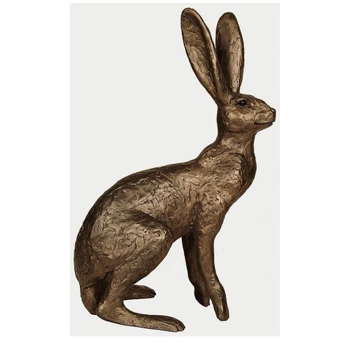 Thomas Meadows Tamsin Cold Cast Bronze Hare Sculpture