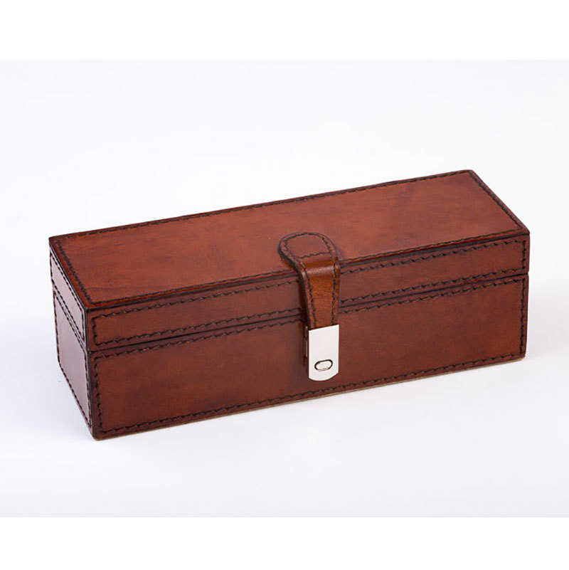 Watch boxes for men cufflink boxes leather jewellery box for Men s valet box