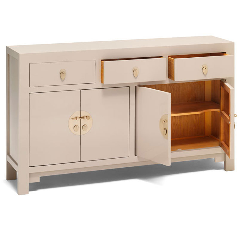 Large Wooden Sideboard Chinese Storage Furniture Candle