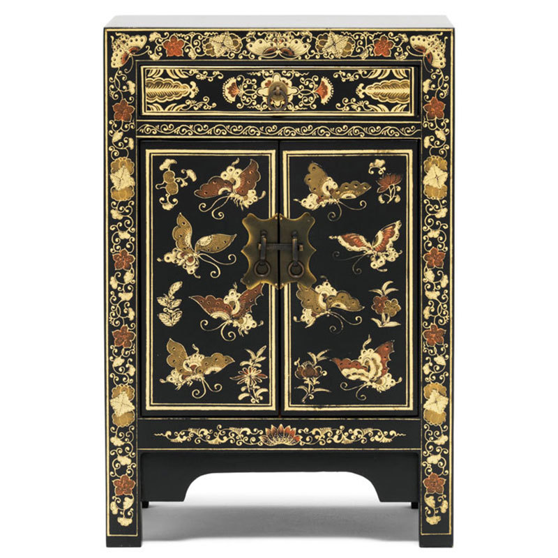Black chinese cabinet chinese cabinets candle and blue for Asian furniture dc