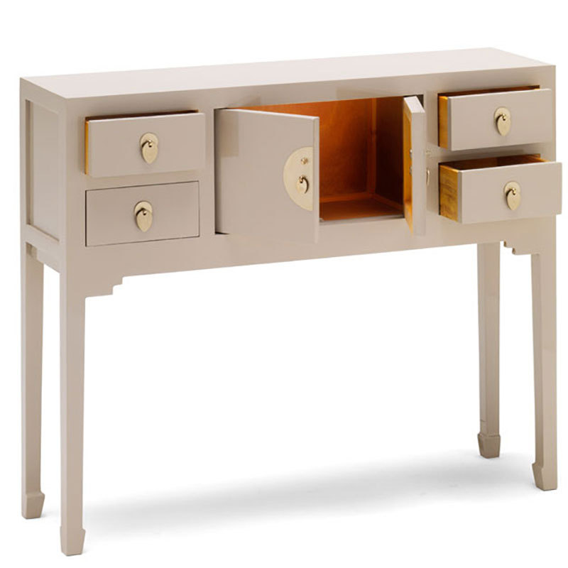 Narrow Console Table With Drawers Chinese Furniture Uk