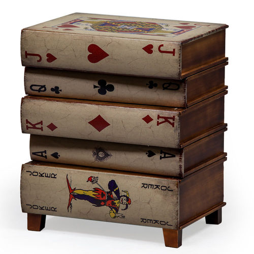 Playing Cards Small Side Table