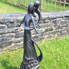 Tall Caring Embrace Garden Ornament