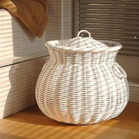 A_Large_White_Alibaba_Cane_Laundry_Basket