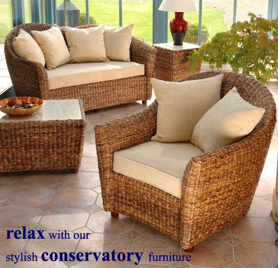 Banana Leaf Conservatory Furniture Candle And Blue Blog