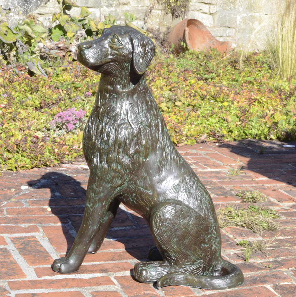 Metal Dog Garden Statues Uk Dog Statues Life Size Candle
