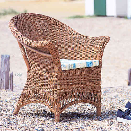 Loom Style Chair Candy Brown