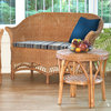 Wicker Loom Style Conservatory Sofa Brown