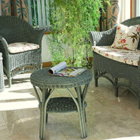 Small Wicker Conservatory Furniture