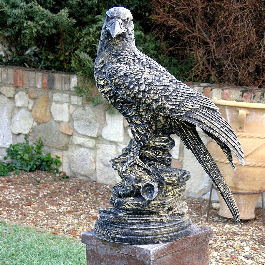 Eagle Garden Ornament Bird Of Prey Garden Sculpture