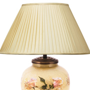 Faux Silk Shade Pleat Almond 12""