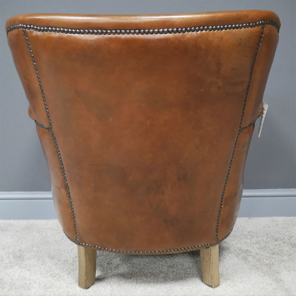 Soft Brown Leather Armchairs And Chairs|Real Leather ...