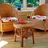 Conservatory Cane Furniture Table and Chair Set