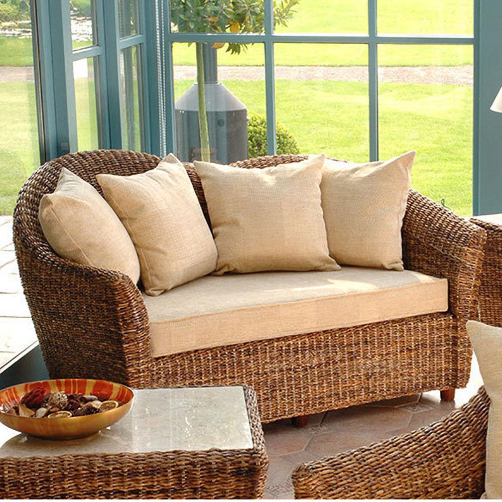 Cane Conservatory Furniture Laluna Sofa Cane Sofa Candle