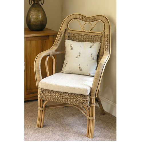 Conservatory Cane Chair Southwold Chestnut