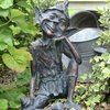 Pixie Sitting Garden Ornament