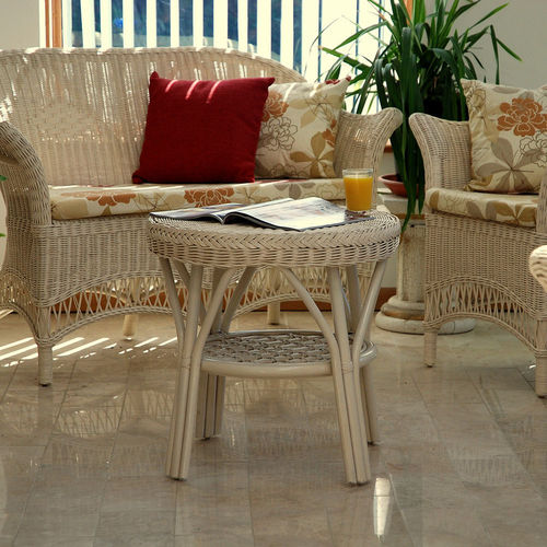 Loom Style Conservatory Set Cream