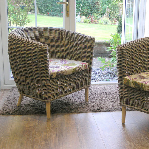 Tuscany Rattan Tub Conservatory Chair
