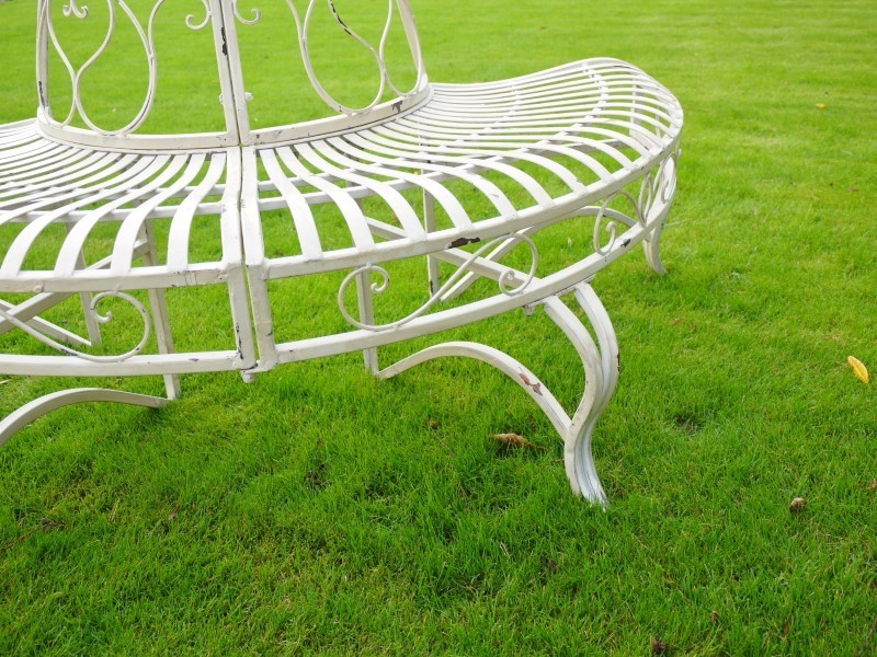 Metal Garden Bench Metal Patio Furniture Tree Seat