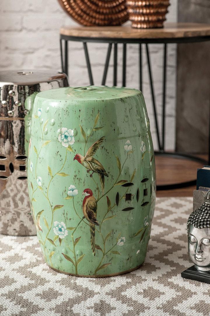 Decorative Ceramic Stool Chinese Decorative Stool Candle