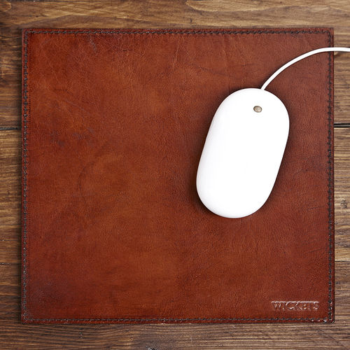 Luxury Leather Desk Mouse Mat