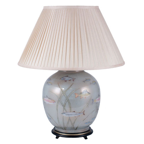 Jenny Worrall Fish Glass Table Lamp