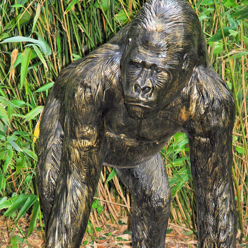 Large Gorilla Garden Ornament