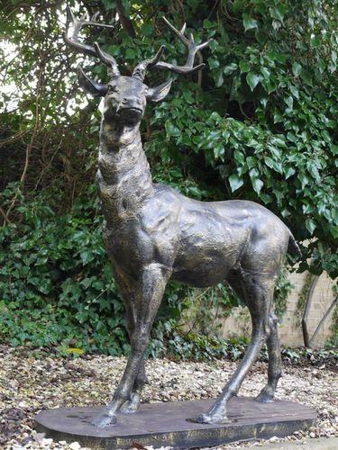 Large Standing Garden Stag Ornament