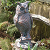 Long Eared Owl Metal Garden Sculpture