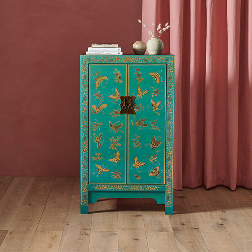 Medium Chinese Cabinet in Blue