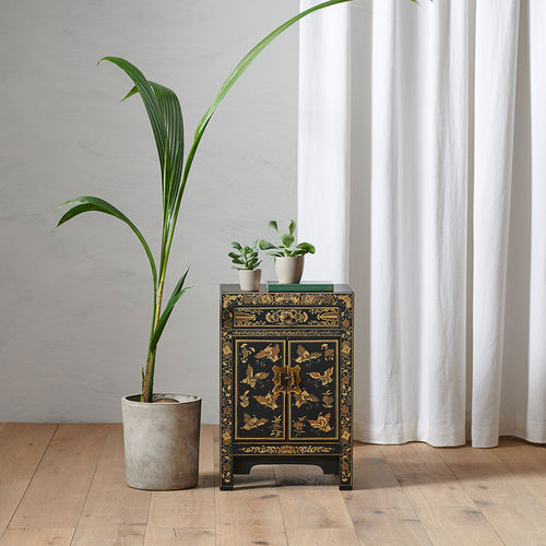 Small Chinese Cabinet in Black