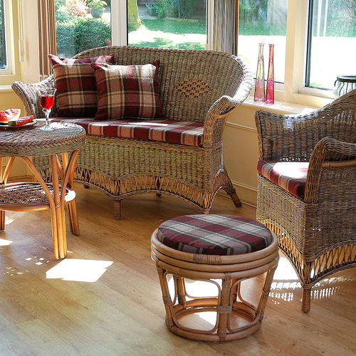 Loom Style Conservatory Furniture Set